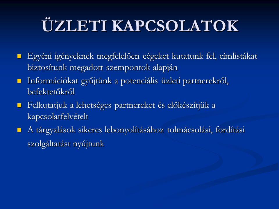 KAMARAI TAGSÁG A kamara tagja lehet: A kamara tagja lehet: horvátországi bejegyzésű, magyar tulajdonosi háttérrel rendelkező cég horvátországi bejegyzésű, magyar tulajdonosi háttérrel rendelkező cég horvát cég, amely érdekelt a magyar-horvát gazdasági kapcsolatokban horvát cég, amely érdekelt a magyar-horvát gazdasági kapcsolatokban cégek, amelyeket üzleti kapcsolatok fűznek Magyarországhoz és Horvátországhoz cégek, amelyeket üzleti kapcsolatok fűznek Magyarországhoz és Horvátországhoz A Magyar-Horvát Kereskedelmi és Iparkamarához az alapító tagok mellett elsőbbségi és rendes tagok csatlakozhatnak.