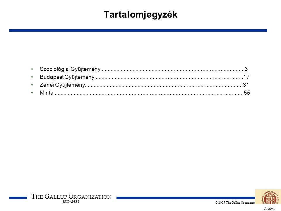 2. ábra T HE G ALLUP O RGANIZATION BUDAPEST © 2009 The Gallup Organization Tartalomjegyzék Szociológiai Gyűjtemény....................................