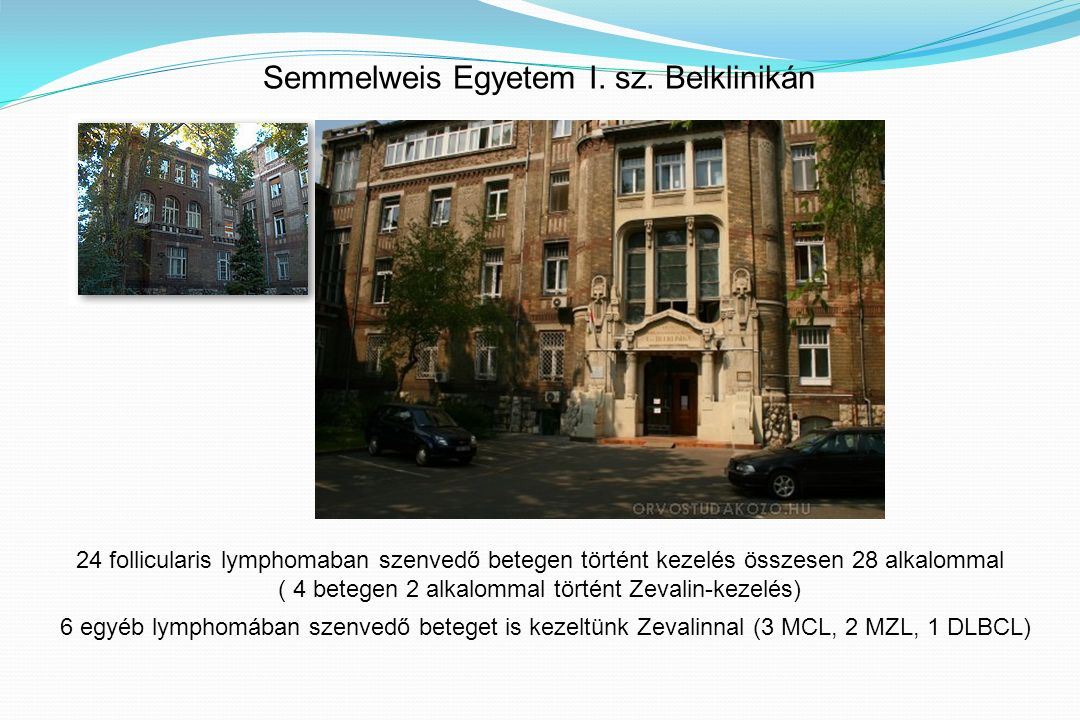 Semmelweis Egyetem I. sz.