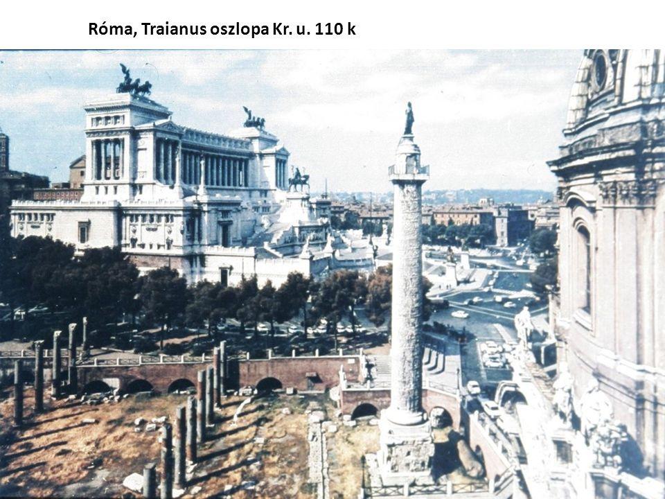 Róma, Traianus oszlopa Kr. u. 110 k