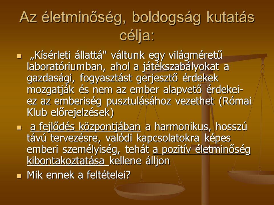 Kik boldogok a magyar társadalomban.