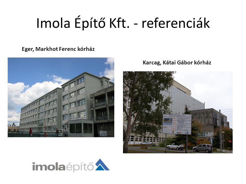 Kereskedelem ÉpítőanyagokLakáskerámia Imola Bau Kft.