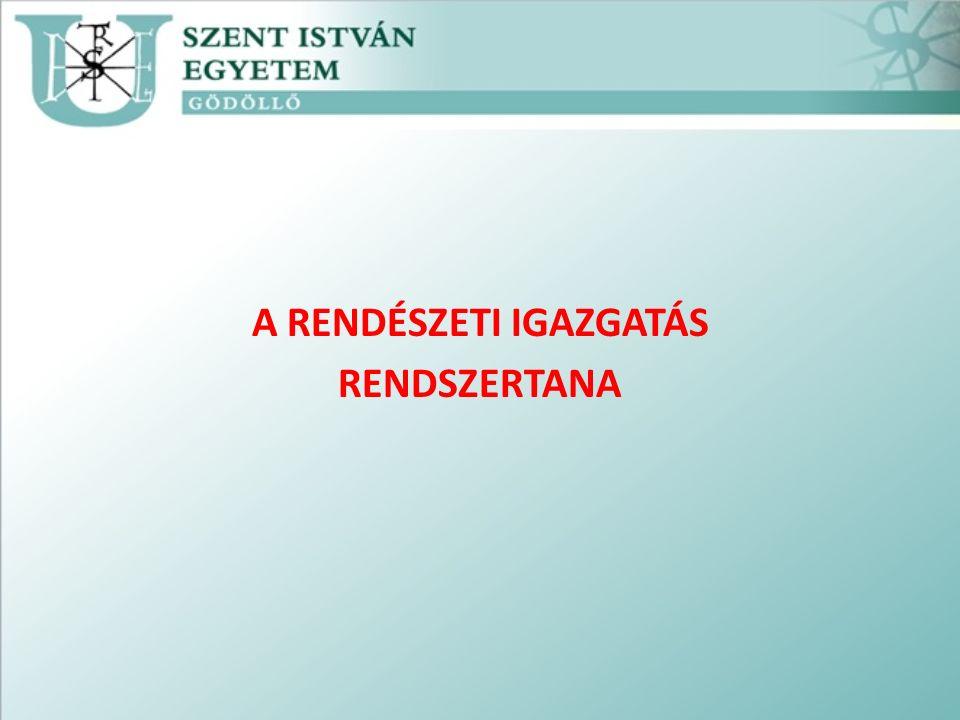 5.A Katasztrófavédelmi igazgatás A katasztrófák elleni védekezésben – az 1999.