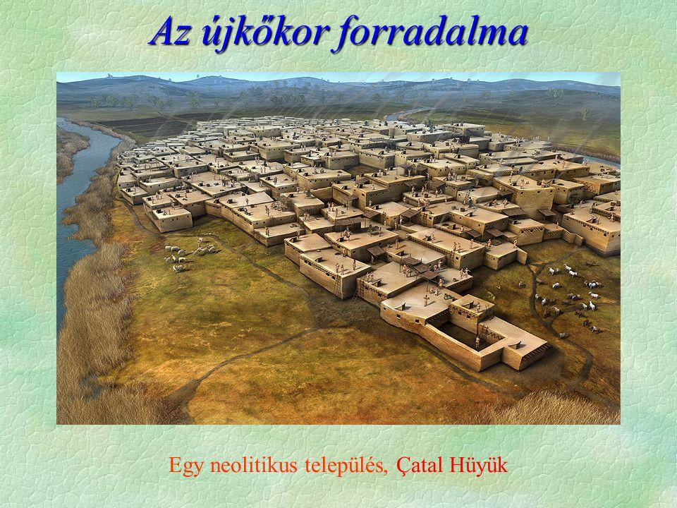 Az újkőkor forradalma Egy neolitikus település, Çatal Hüyük