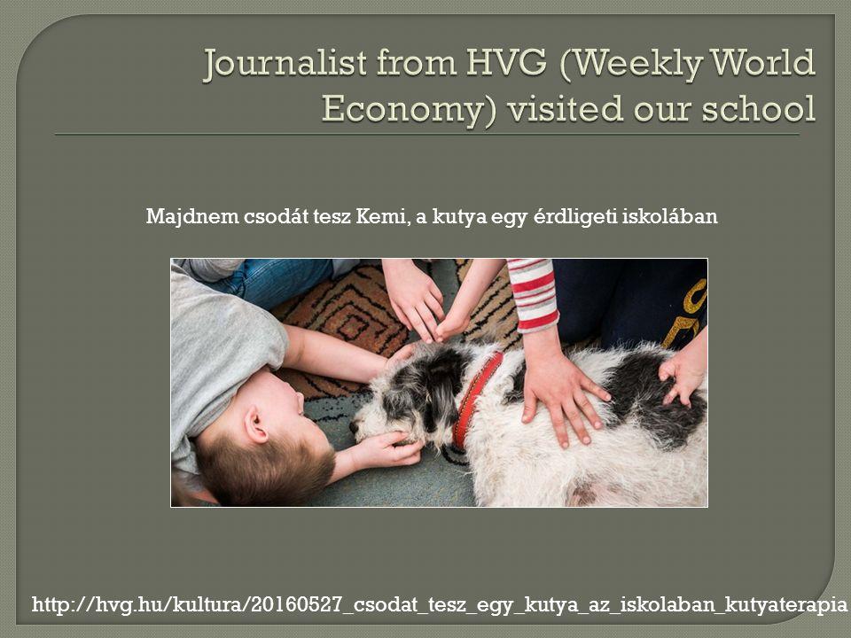 Majdnem csodát tesz Kemi, a kutya egy érdligeti iskolában http://hvg.hu/kultura/20160527_csodat_tesz_egy_kutya_az_iskolaban_kutyaterapia