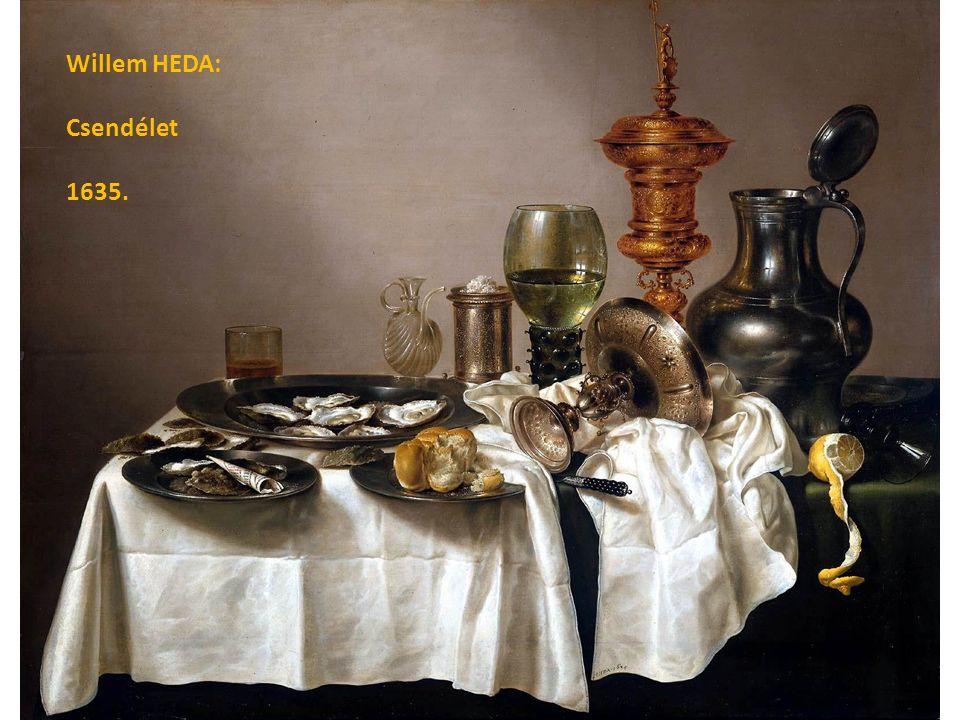 Willem HEDA: Csendélet 1635.