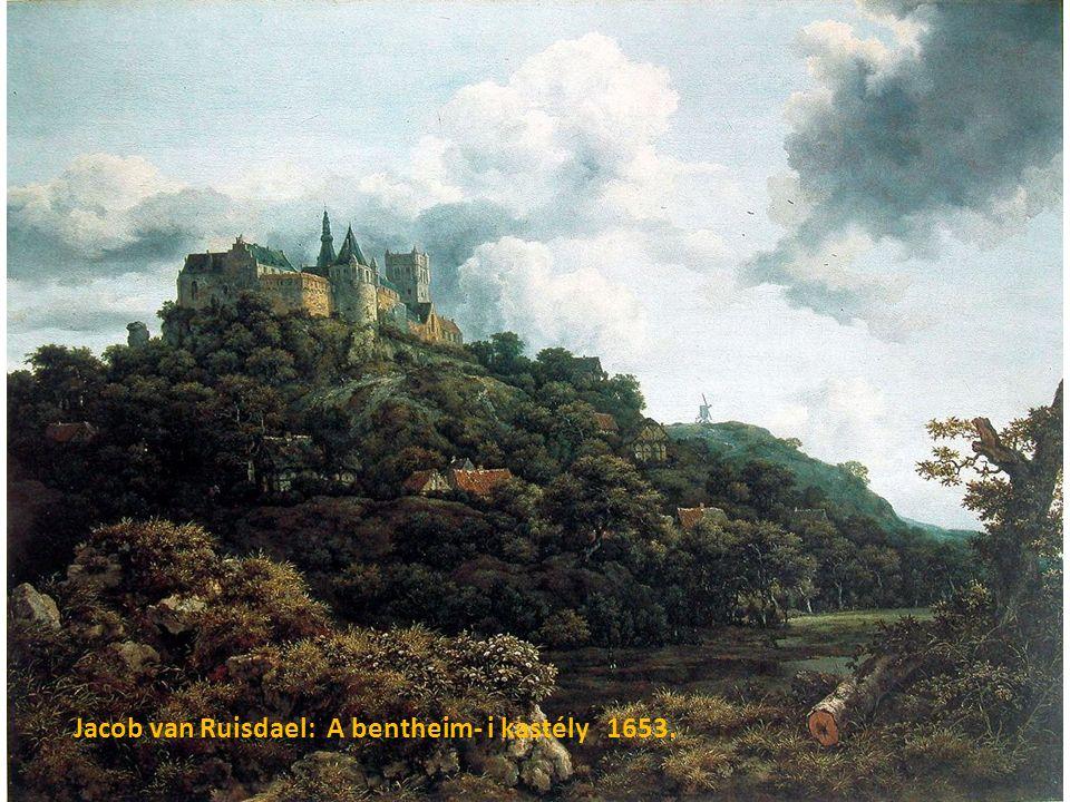 Jacob van Ruisdael: A bentheim- i kastély 1653.