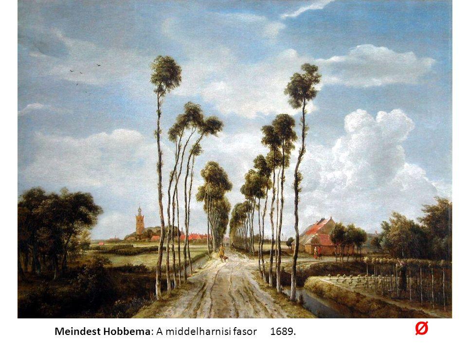 Meindest Hobbema: A middelharnisi fasor 1689. Ø
