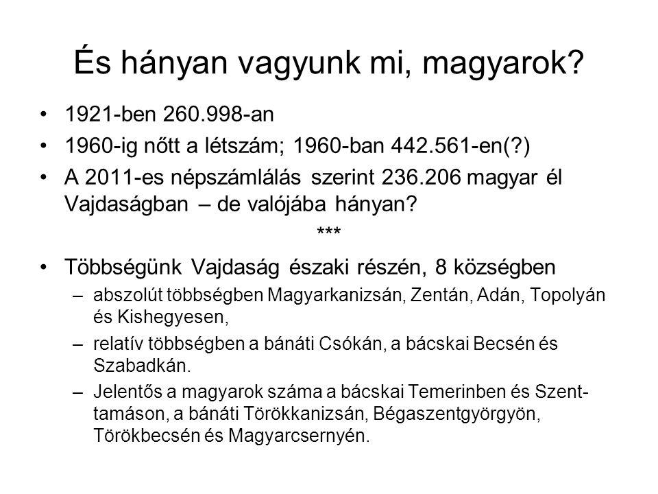 És hányan vagyunk mi, magyarok.