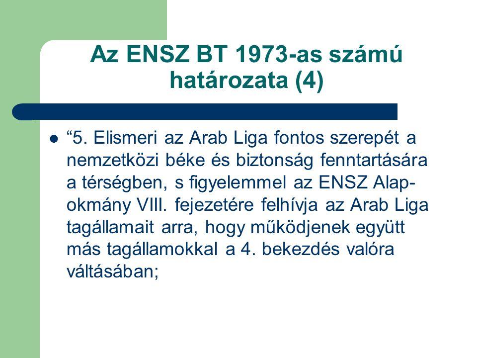 Az ENSZ BT 1973-as számú határozata (4) 5.