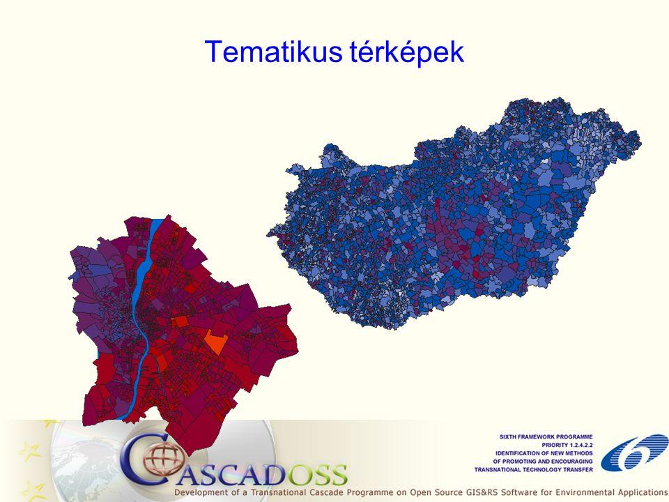 Tematikus térképek