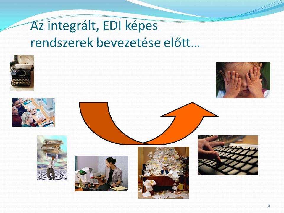 Az integrált, EDI képes rendszerek bevezetése előtt… 9