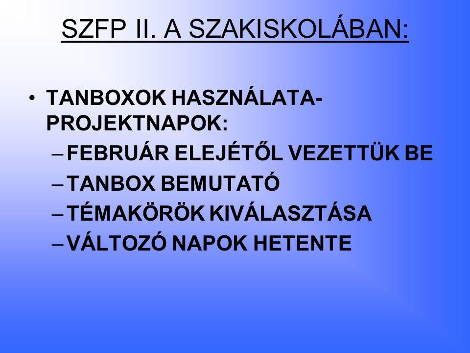 SZFP II.