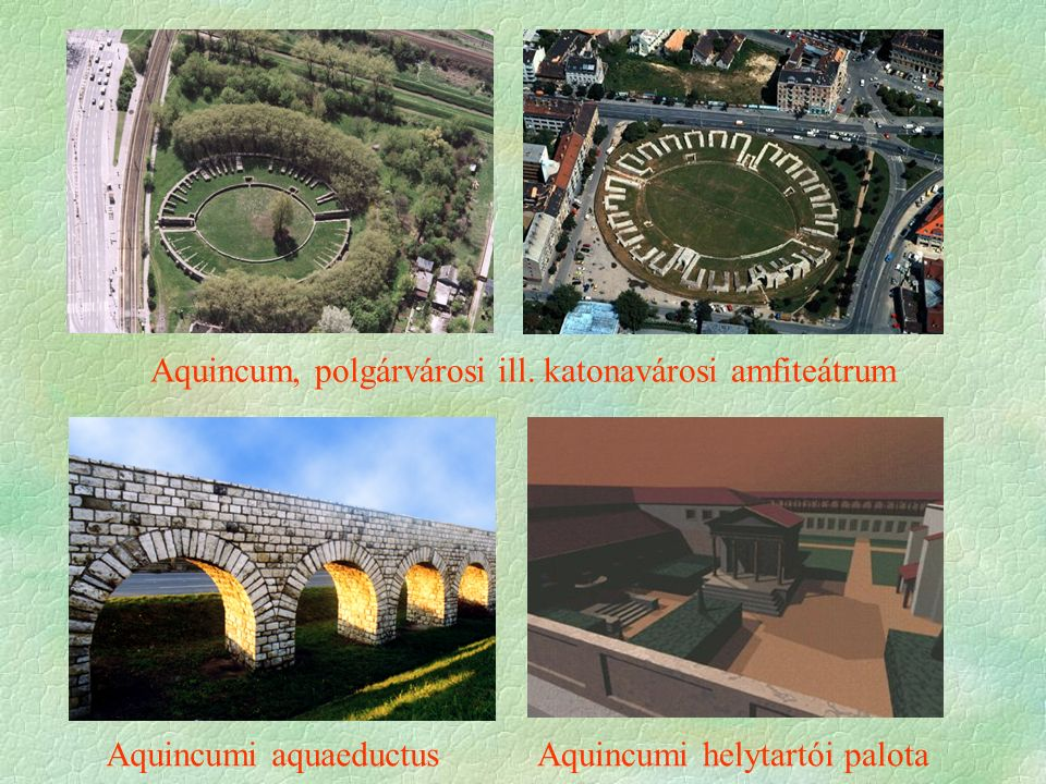 Aquincum, polgárvárosi ill.