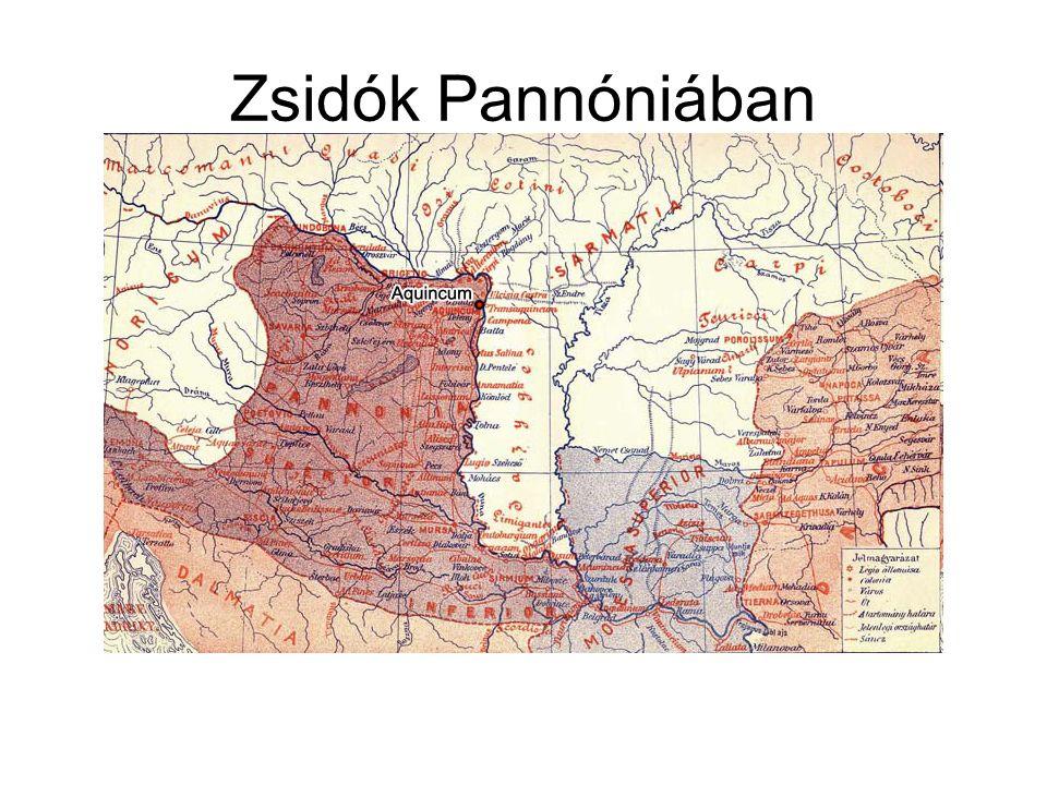 Zsidók Pannóniában