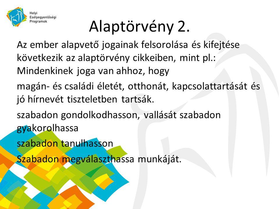 Alaptörvény 3.XII.