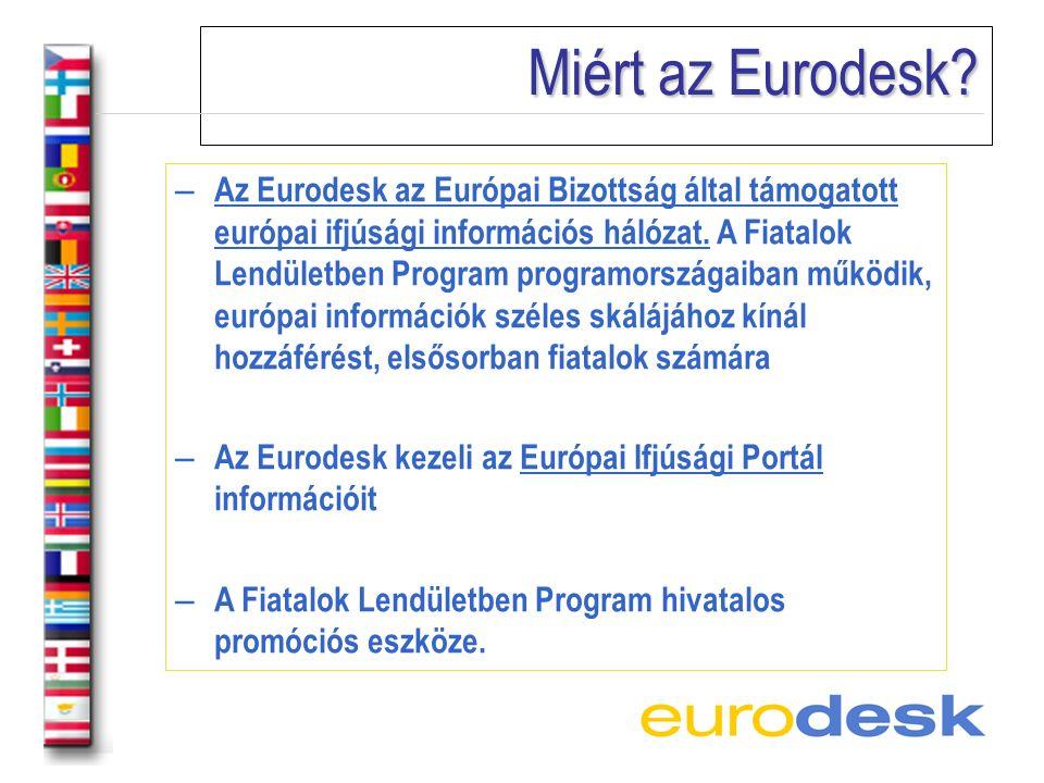 Miért az Eurodesk.