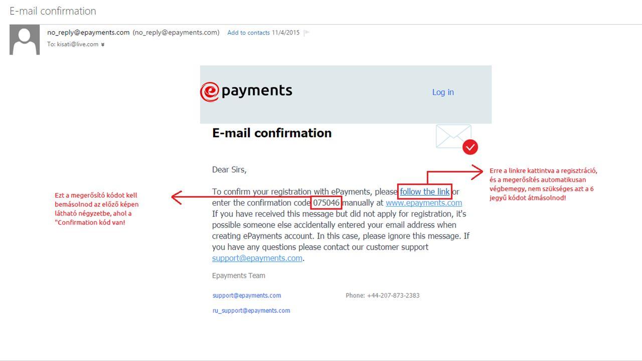 VERIFIKÁLJUK A SZÁMLÁNKAT! A következőkben a verifikációs folyamaton vezetlek végig!