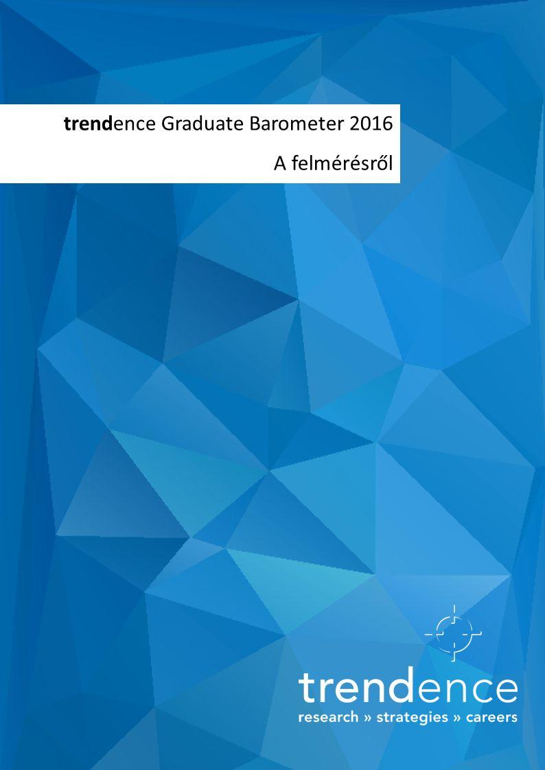 trendence Graduate Barometer 2016 A felmérésről