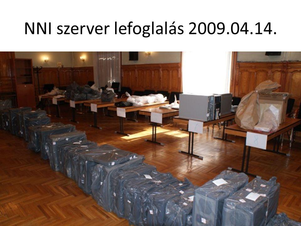 NNI szerver lefoglalás 2009.04.14.