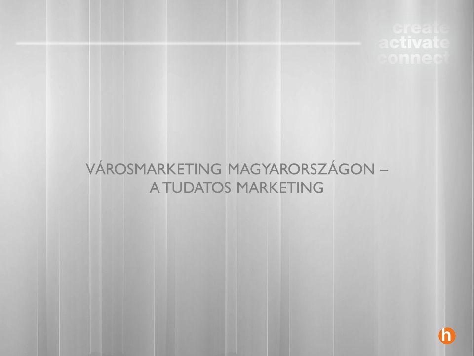 VÁROSMARKETING MAGYARORSZÁGON – A TUDATOS MARKETING
