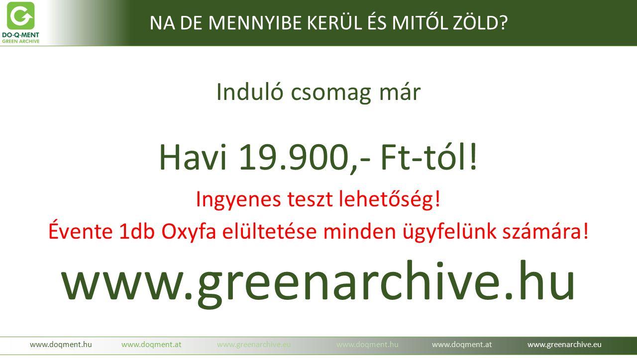 Induló csomag már Havi 19.900,- Ft-tól. Ingyenes teszt lehetőség.