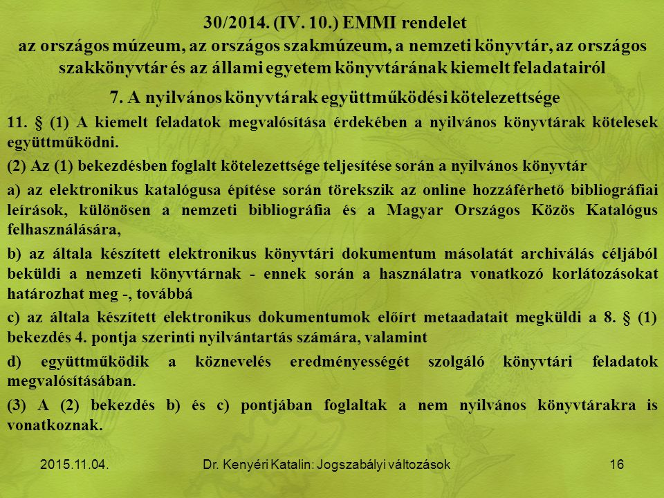 30/2014. (IV.