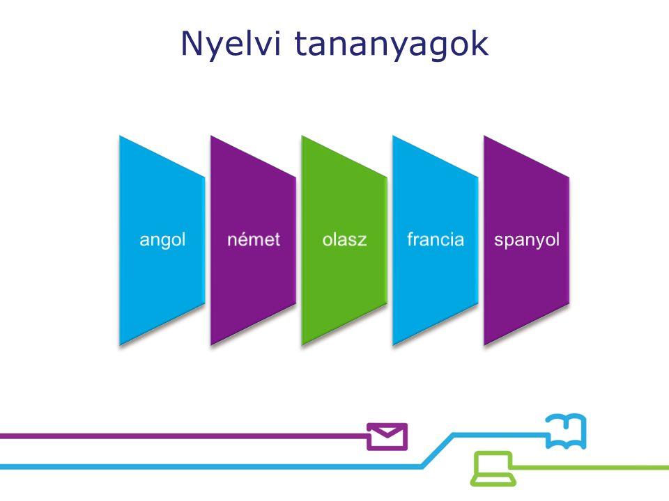 Nyelvi tananyagok angolnémetolaszfranciaspanyol