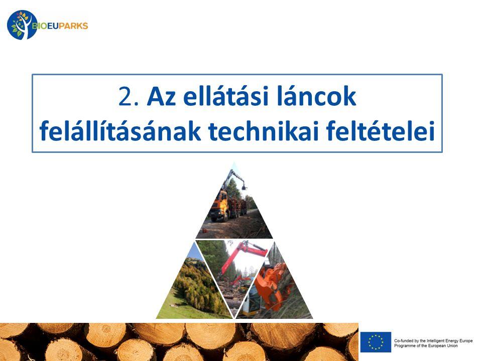 2. Az ellátási láncok felállításának technikai feltételei
