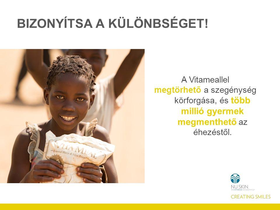 Vitaminhiány Fertőzések és hasmenés > Tápanyagok nem tudnak felszívódni Tanulás/ munkaképtelenség Szegénység és analfabetizmus csapdája Tápláló élelem hiánya Növekvő alultápláltság A SZEGÉNYSÉG-KÖRFORGÁS