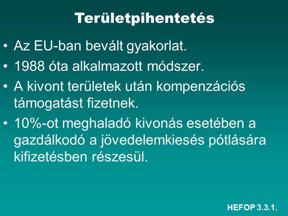 HEFOP 3.3.1. Az EU-ban bevált gyakorlat. 1988 óta alkalmazott módszer.