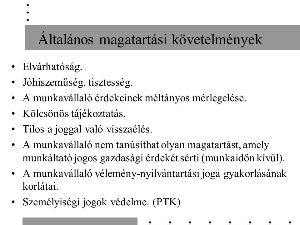 Munkaviszony megszüntetésének módja Azonnali hatályú munkaviszony megszüntetés próbaidő alatt Közös megegyezés Felmondás Azonnali hatályú felmondás kötelességszegés miatt