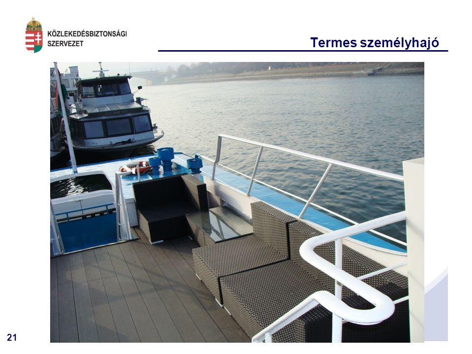 21 Termes személyhajó