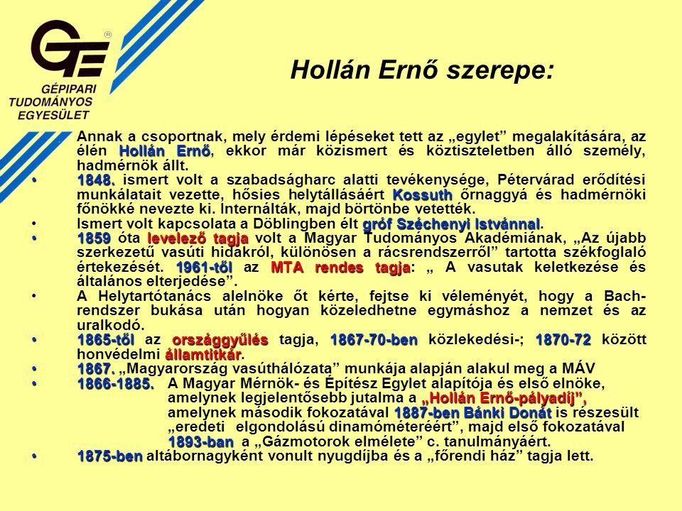 60.jubileuma A Magyar Mérnök és Építész Egyesület 60.