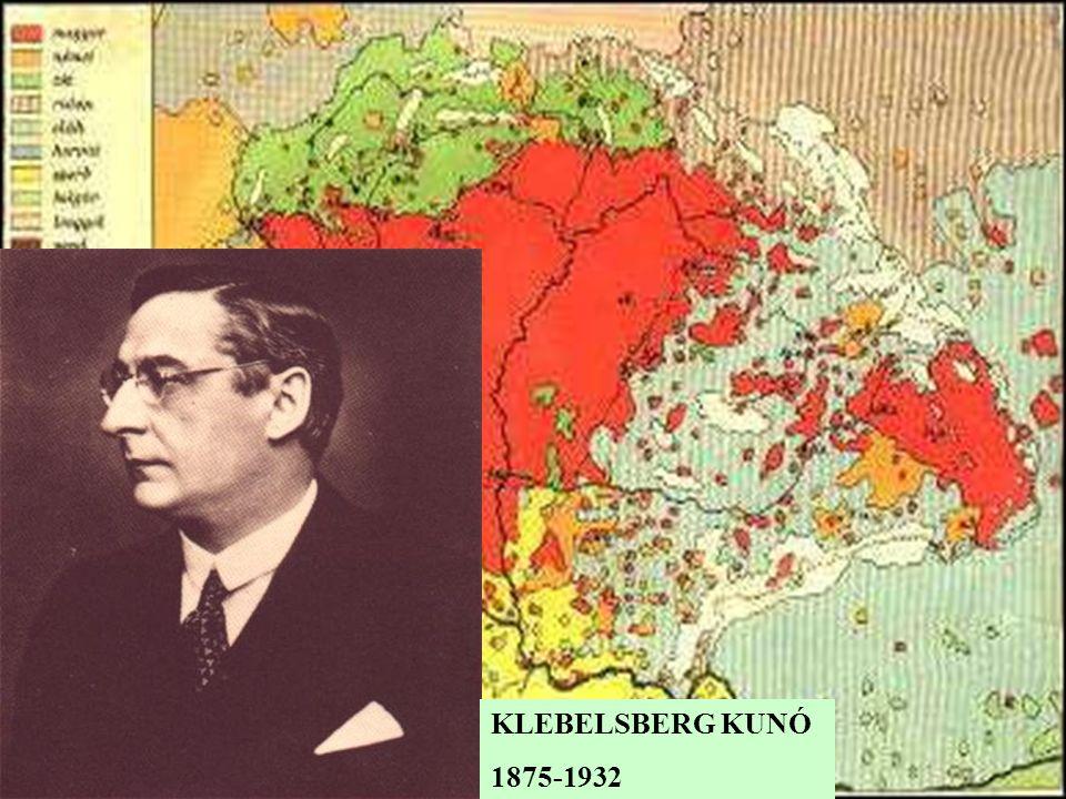 KLEBELSBERG KUNÓ 1875-1932
