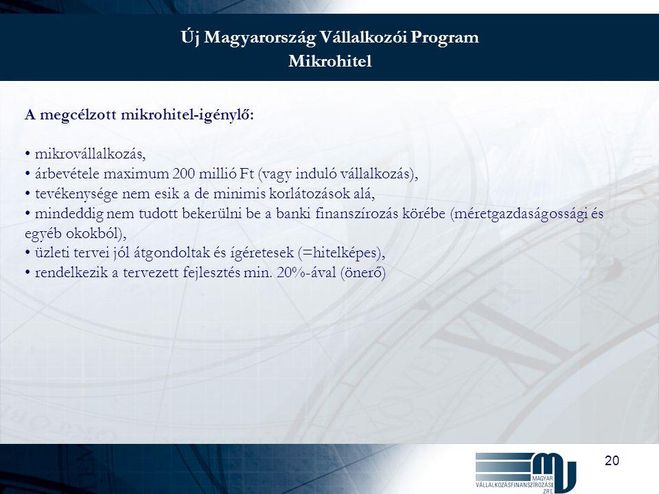 21 Önkormányzati Infrastruktúrafejlesztési Hitelprogram Miért előnyös az önkormányzatok számára.