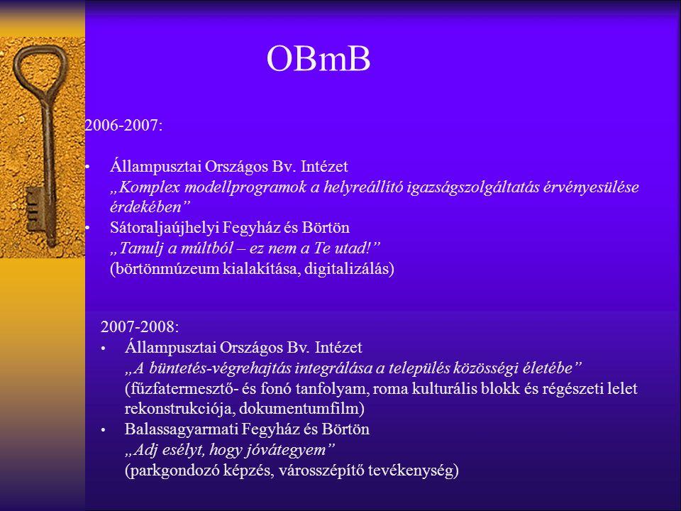 OBmB 2006-2007: Állampusztai Országos Bv.