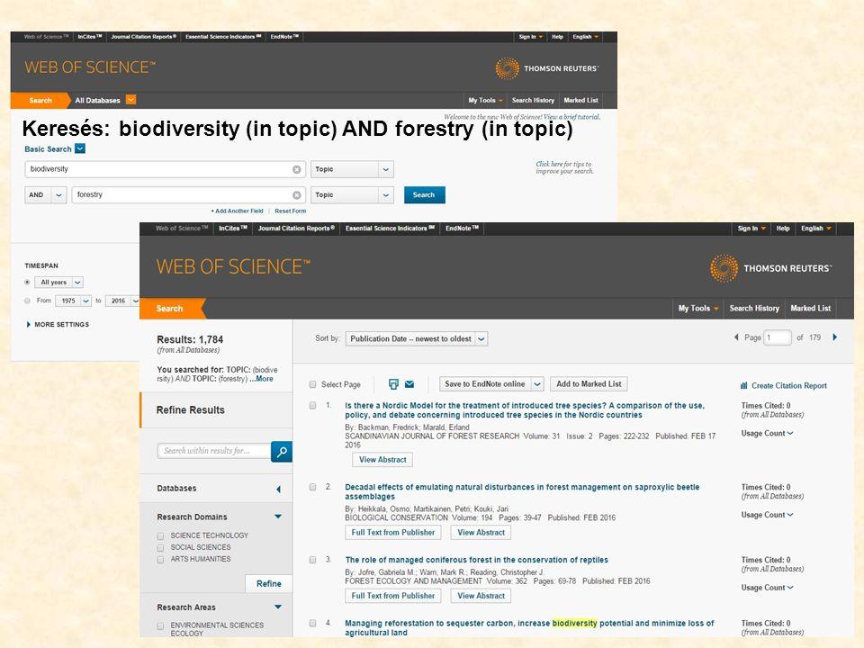 38 Szabadon elérhető szakinformáció-források Könyvtári katalógusok, MOKKA MATARKA – Magyar folyóiratok tartalomjegyzékeinek kereshető adatbázisa FAO Erdészeti adattárai Könyvtári weblapok linkgyűjteményei Szakmai portálok Szabad hozzáférésű elektronikus folyóiratok