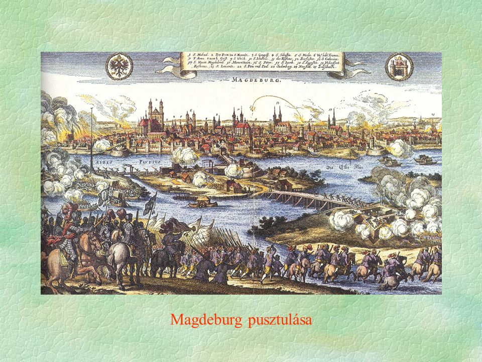 Magdeburg pusztulása