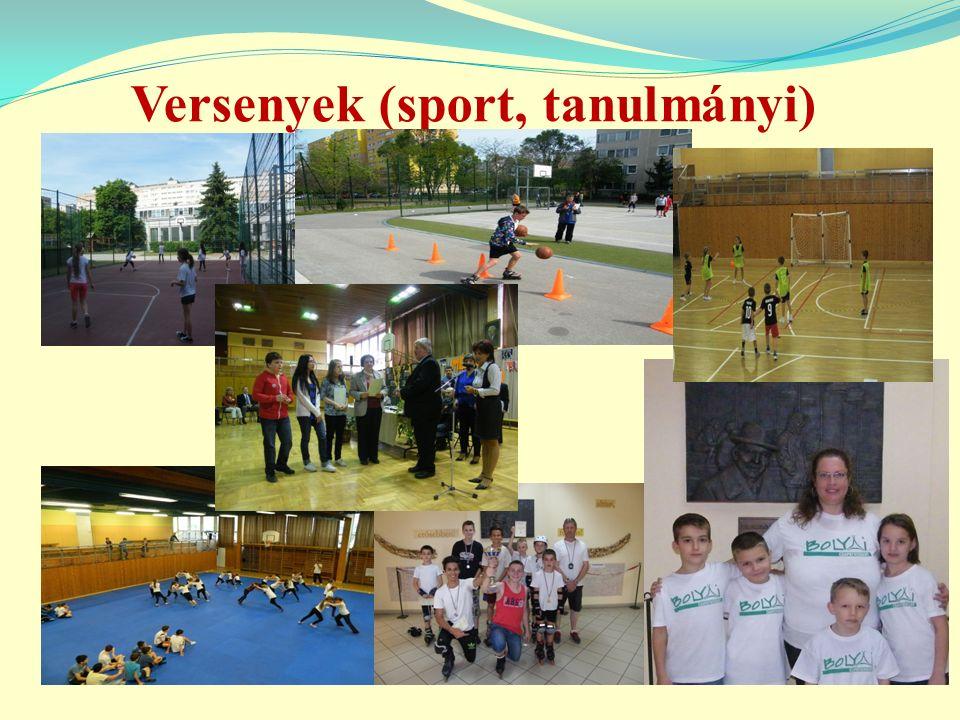 Versenyek (sport, tanulmányi)