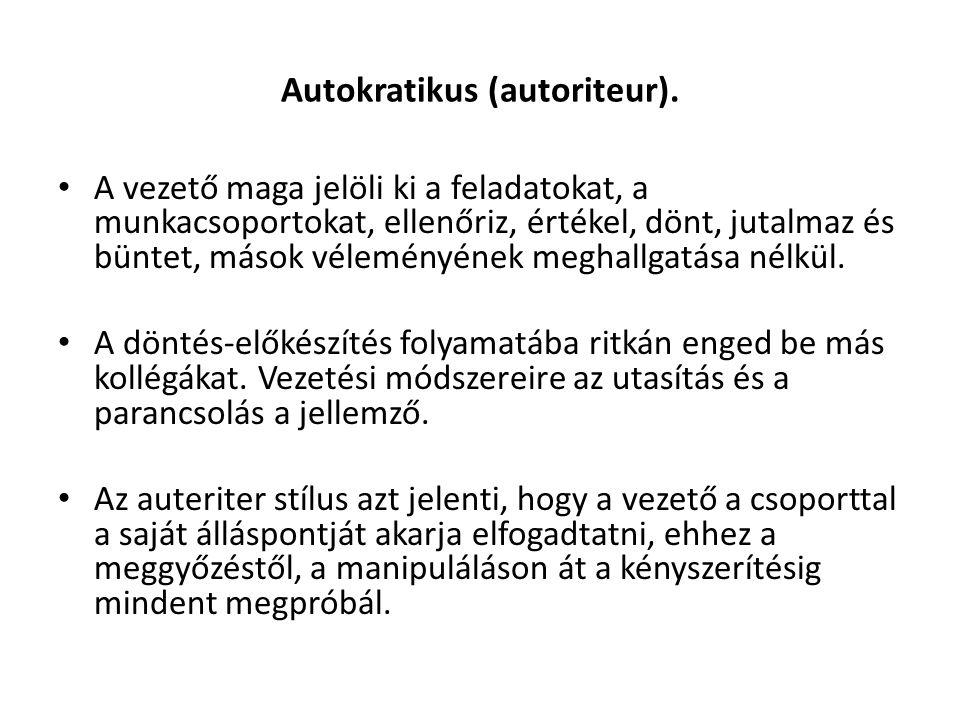 Autokratikus (autoriteur).
