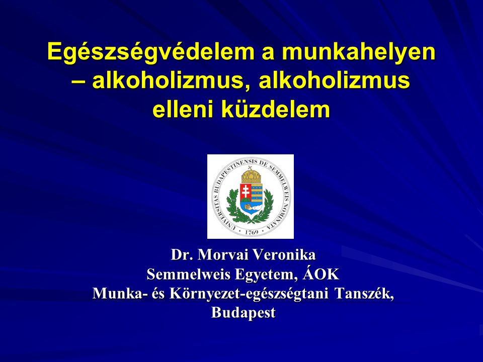 Alkoholfogyasztás Magyarországon  Férfiak: a nagy mennyiségű alkoholt fogyasztók aránya az elmúlt 15 év során nem változott; a felnőtt férfi lakosság 1/5-e, 800 000 fő.