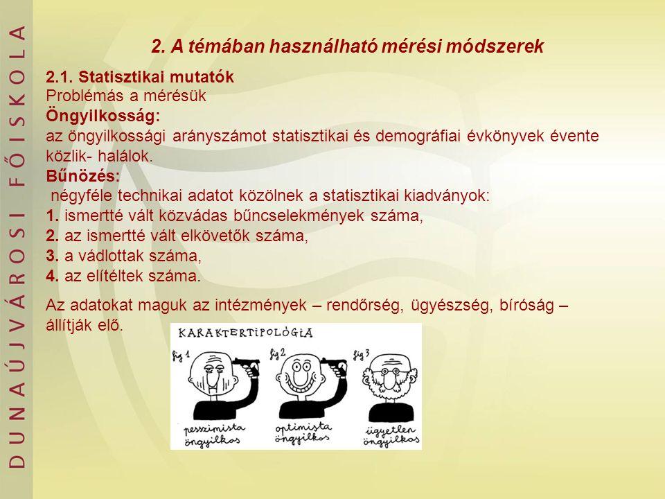 4.Nemzetközi tendenciák 4.1.