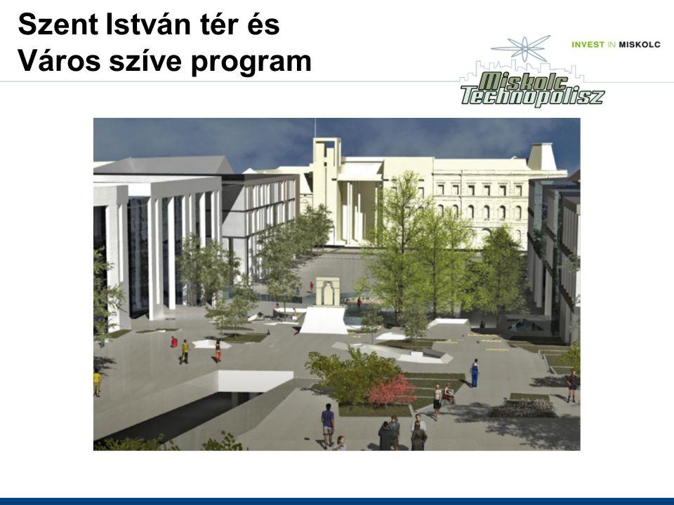 Szent István tér és Város szíve program