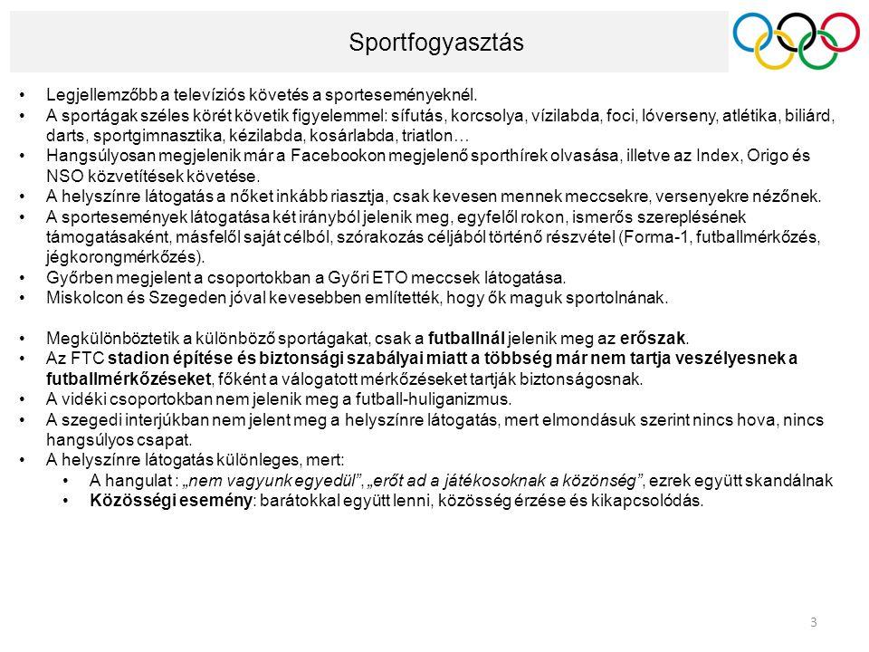 Jegyre szánt összeg Akik hajlandóak lennének mérkőzésre menni nézőként, azok 1500-3000 Ft-ot hajlandóak fizetni a magyarországi sporteseményekért.
