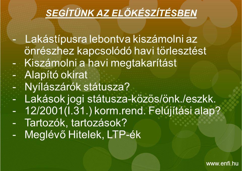 A PÁLYÁZAT BENYÚJTÁSA -Elektronikus úton - Csatolandó dokumentumok - Alternatívák bemutatása.