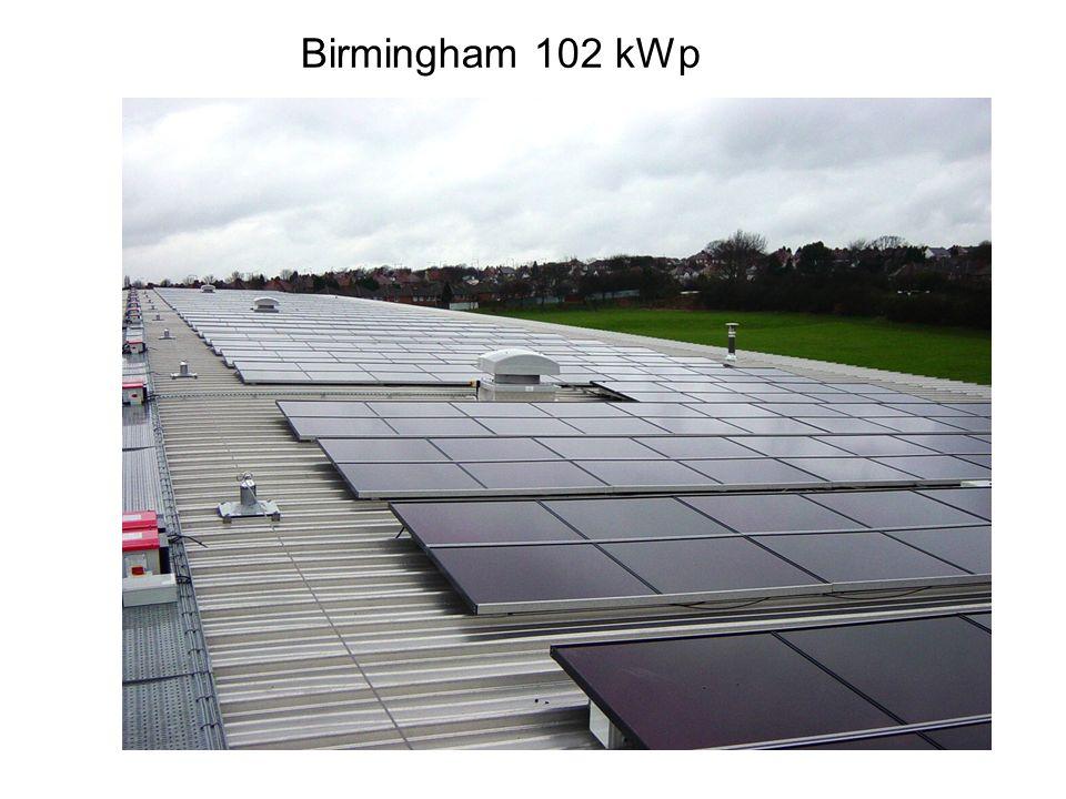 Birmingham 102 kWp