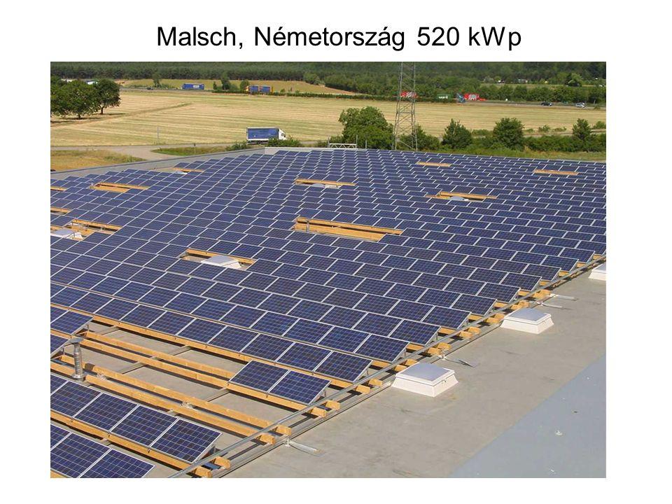 Malsch, Németország 520 kWp