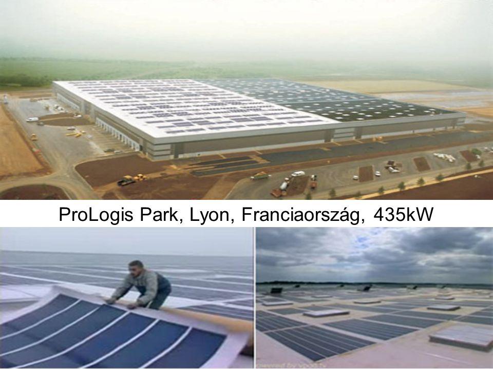 ProLogis Park, Lyon, Franciaország, 435kW