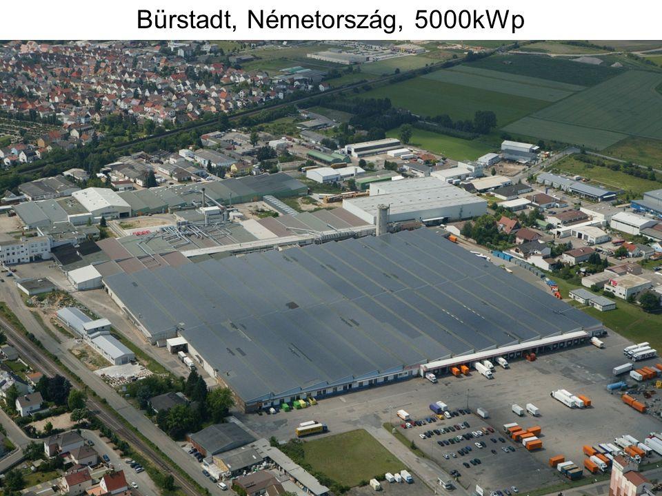 Bürstadt, Németország, 5000kWp